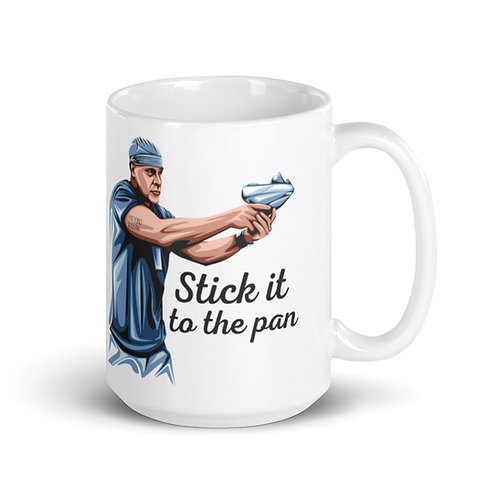 Stick It to the Pan Mug