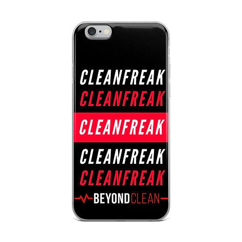 CleanFreak iPhone Case
