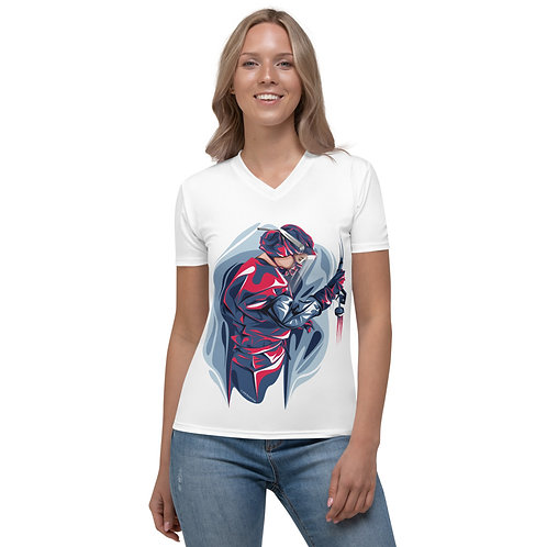 Victory over Microbes Women's V-neck