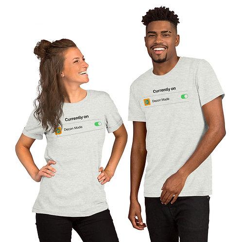 Decon Mode Short-Sleeve Unisex T-Shirt