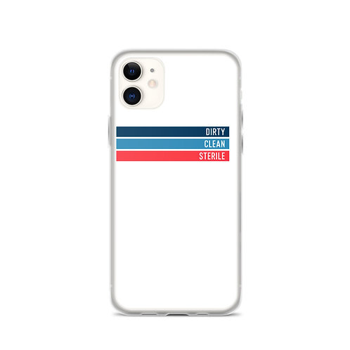 Dirty | Clean | Sterile iPhone Case