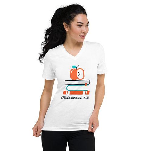 Certification Collector Unisex Short Sleeve V-Neck T-Shirt