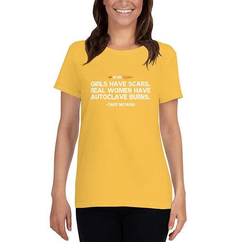 Scars & Burns Women's short sleeve t-shirt