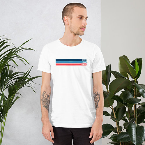 Dirty | Clean | Sterile Short-Sleeve Unisex T-Shirt