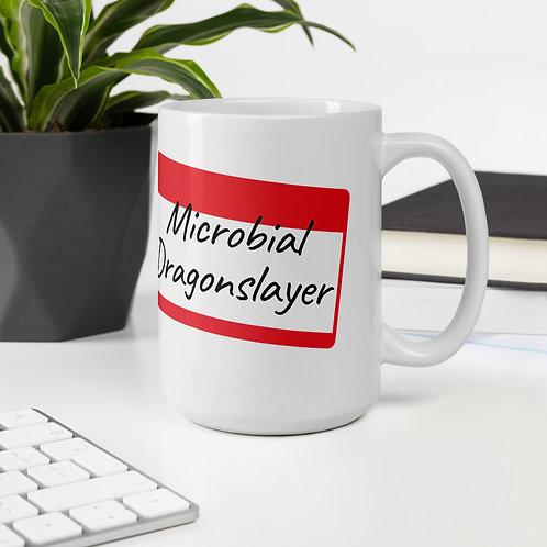 Microbial Dragonslayer Name Tag Mug