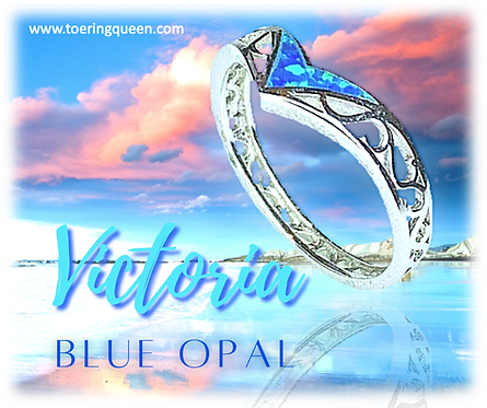 """Victoria Blue Opal"""