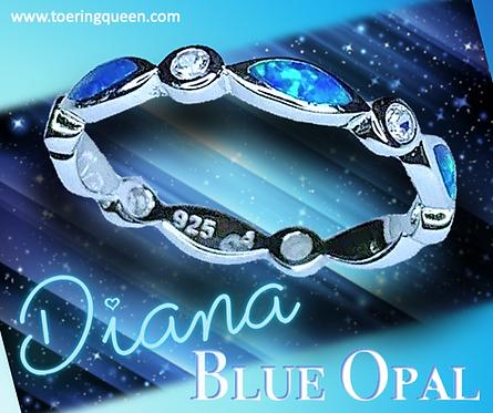 """""""Diana Blue Opal"""""""