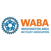 This image is the Washington Area Bicyclist Association's logo. Clicking on this image will take you directly to their web page.