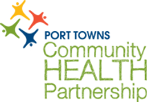This image is Port Towns Community Health Partnership's logo. Clicking on this image will take you directly to their web page.