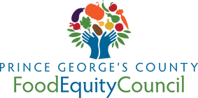Prince George's County Food Equity Council Logo. Clicking on the image will take you directly to their web page.