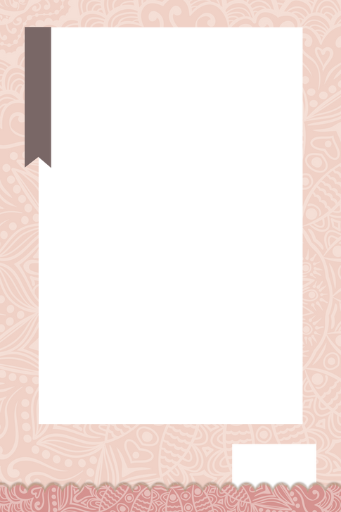 1 pink with black ribbon