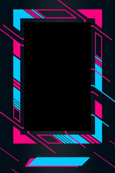 1 BLACK-PINK-BLUE