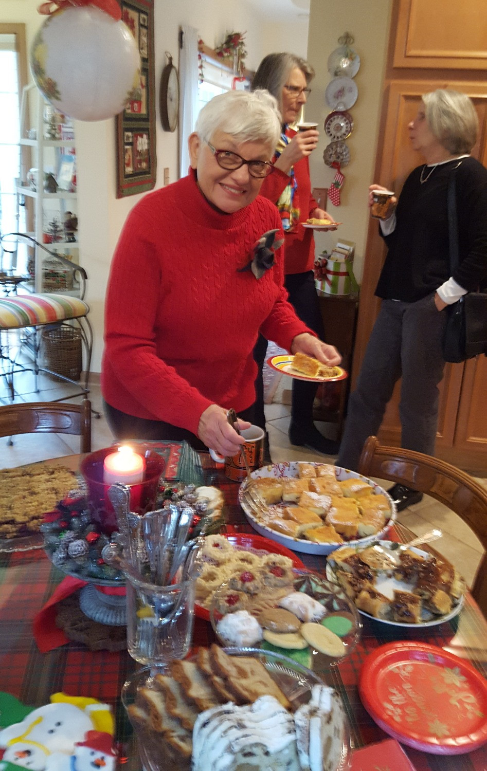 Marge Palleon sorts through the holiday goodies!