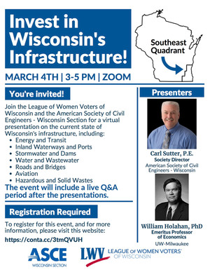 Invest in Wisconsin's Infrastructure