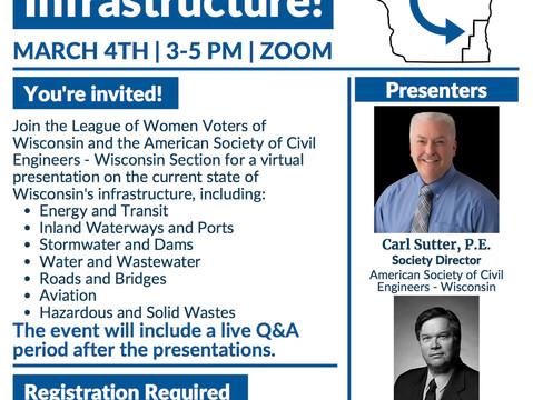 Invest in Wisconsin's Infrastructure