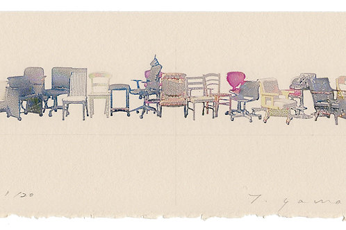 CHAIR 2019 21chairs(シート)