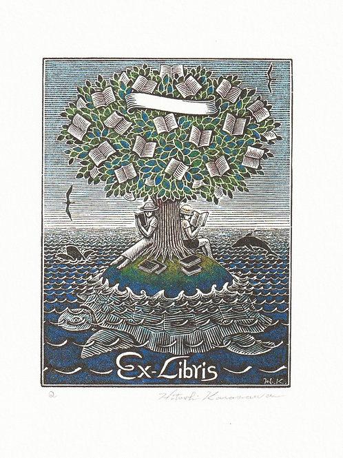 海亀の蔵書票
