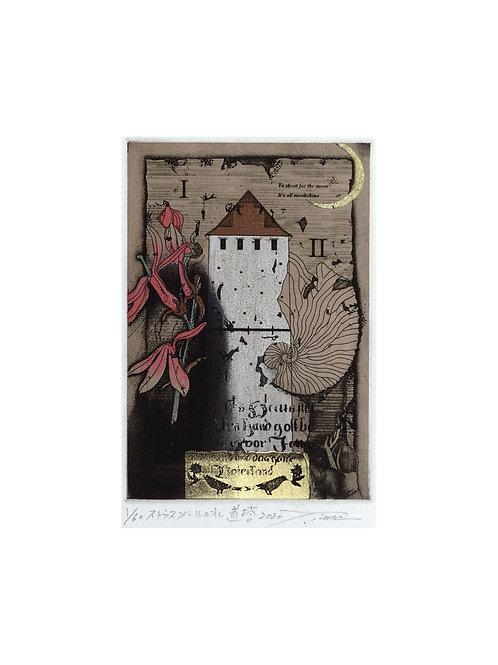今村由男作品 ストラスブールの水道塔