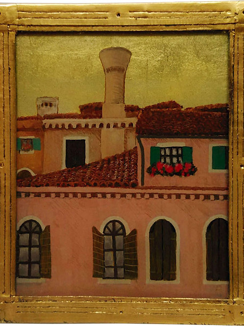 ベネチアの窓