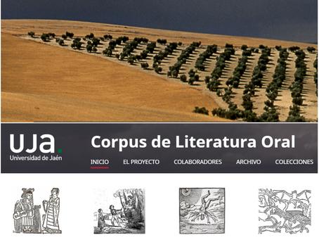 El Corpus de Literatura Oral, una iniciativa de la UJA para mantener viva la cultural oral