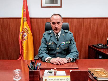 Hablamos con Manuel Delgado Fuentes, de origen valdepeñero y Teniente Coronel de la Guardia Civil