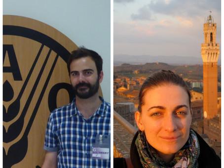 Juan Infante y María Victoria Peinado, nuestros 'Valdepeñeros por el mundo' de la próxima crónica