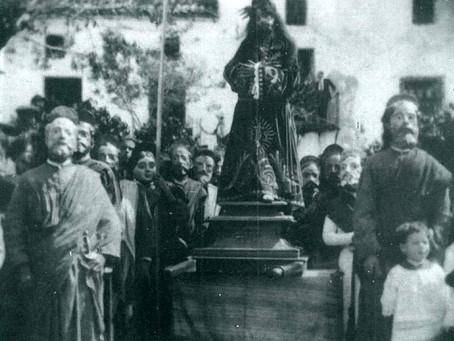 La representación del 'Paso de Abraham', una tradición valdepeñera de comienzos del siglo XX