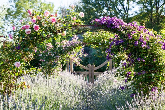 Le Jardin du presbytère, Aveyron, France