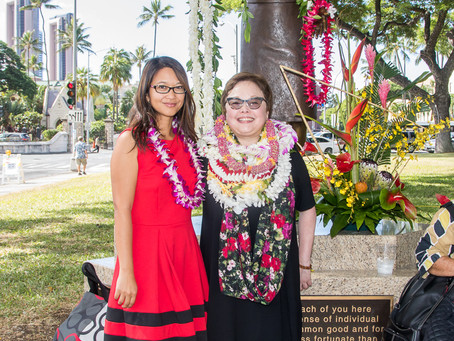Patsy Mink memorialized with statue