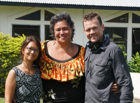 Filming in Samoa begins