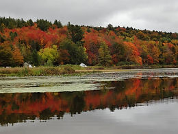 The Viking Motel, Wilmington VT - Fall Foliage