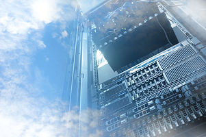 Cloud Servers Computing Technology In Datacenter Creative Concept.jpg