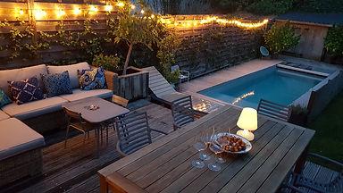 luminaire jardin et piscine