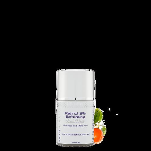 SkinScript Retinol 2% Exfoliating Scrub/Mask