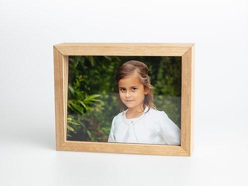 Glasbox met 12 foto's - 20x15
