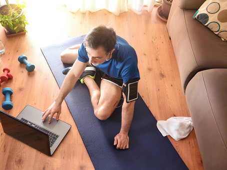 New Year's Fitness Resolutions: Getting Fit from Home