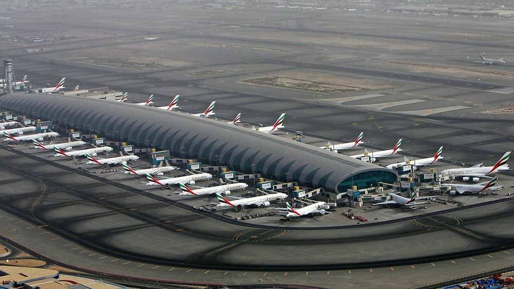 Emirates Terminal 3 hub at DXB