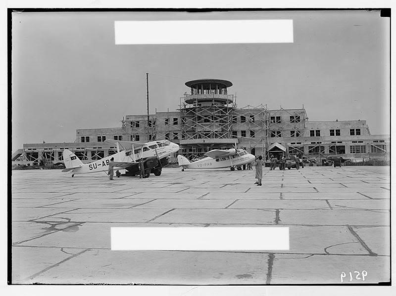 Lydda Airport, Palestine (Date Unknown)