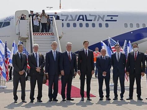 El Al lands in Abu Dhabi – breaks two new barriers on historic flight