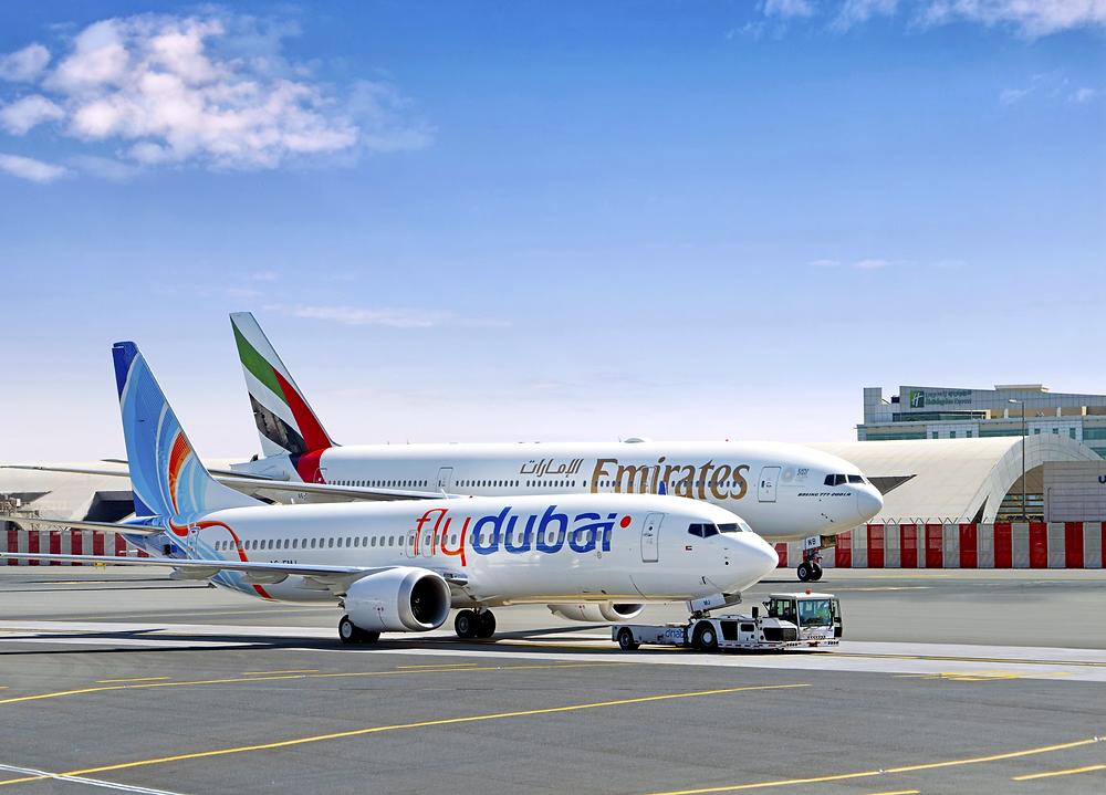 Flydubai and Emirates renew their marketing partnership