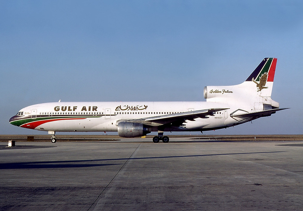 "Gulf Air L1011 TriStar ""Golden Falcon"""