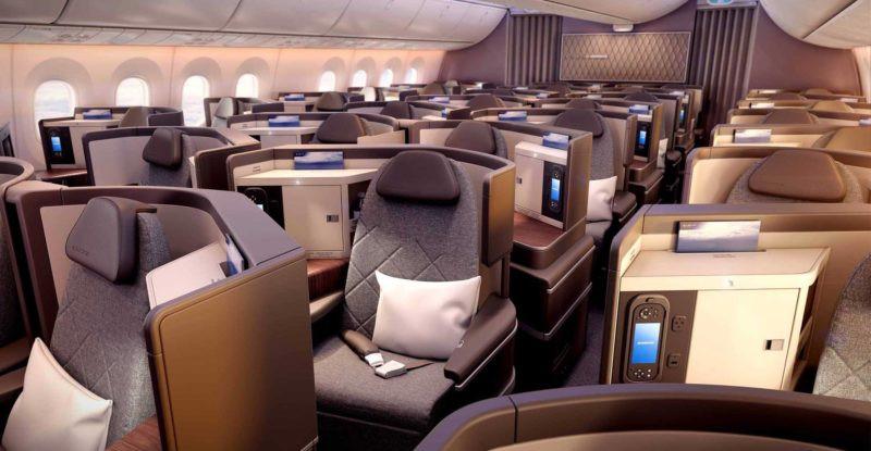 El Al first class cabin