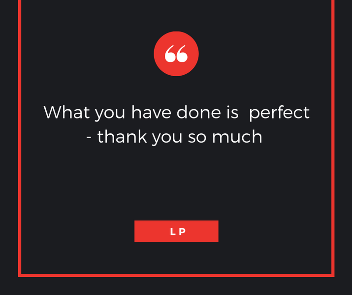 What you have done is perfect - thank yo