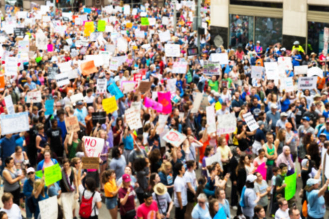 Thousands March in Texas to Protest Gun