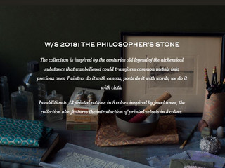 FORTUNY | The Philosophers Stone | W/S 2018 Collection