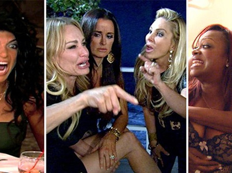 The 10 Most Shocking 'Real Housewives' Fights Ever