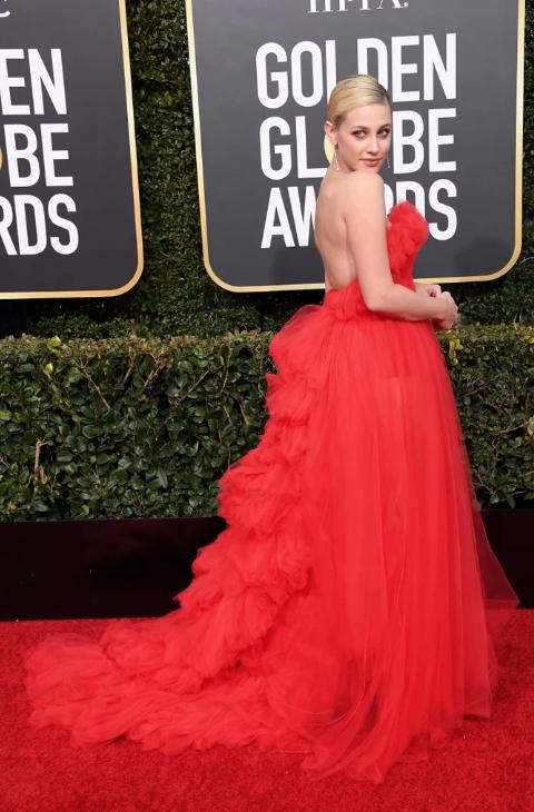 Lili Reinhart Golden Globes
