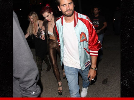 Scott Disick and Bella Thorne, what is going on?