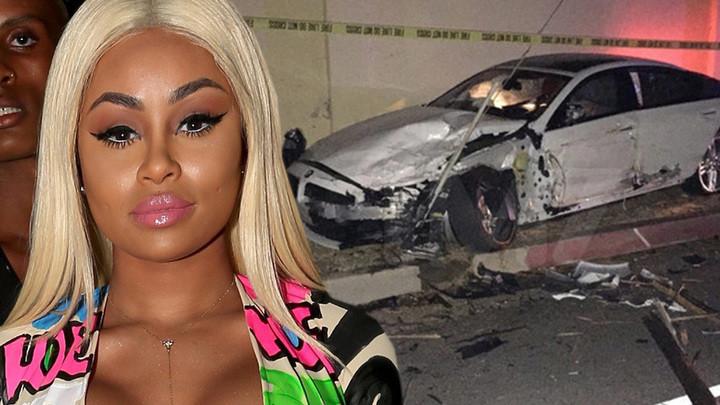 Blac Chyna Car Crash