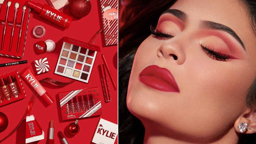kylie jenner holiday collection